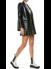 Alice + Olivia Denny Vegan Leather Blazer