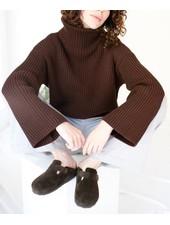 Paper Label Hunter Oversized Sweater