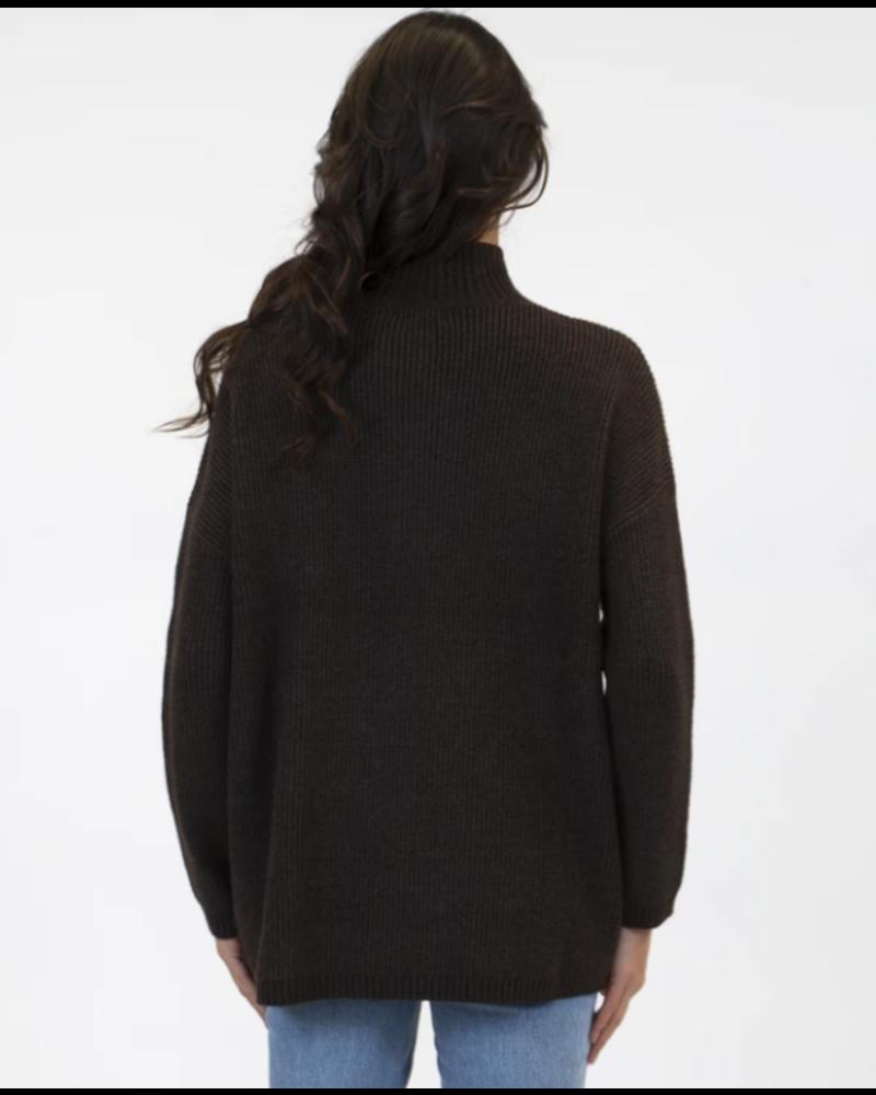 Braeden Mock Neck Sweater