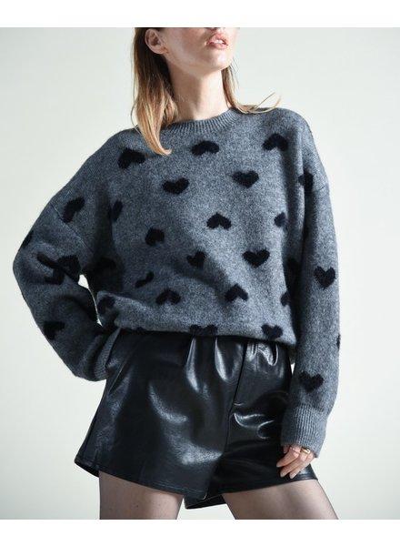 Molly Bracken Heart Sweater