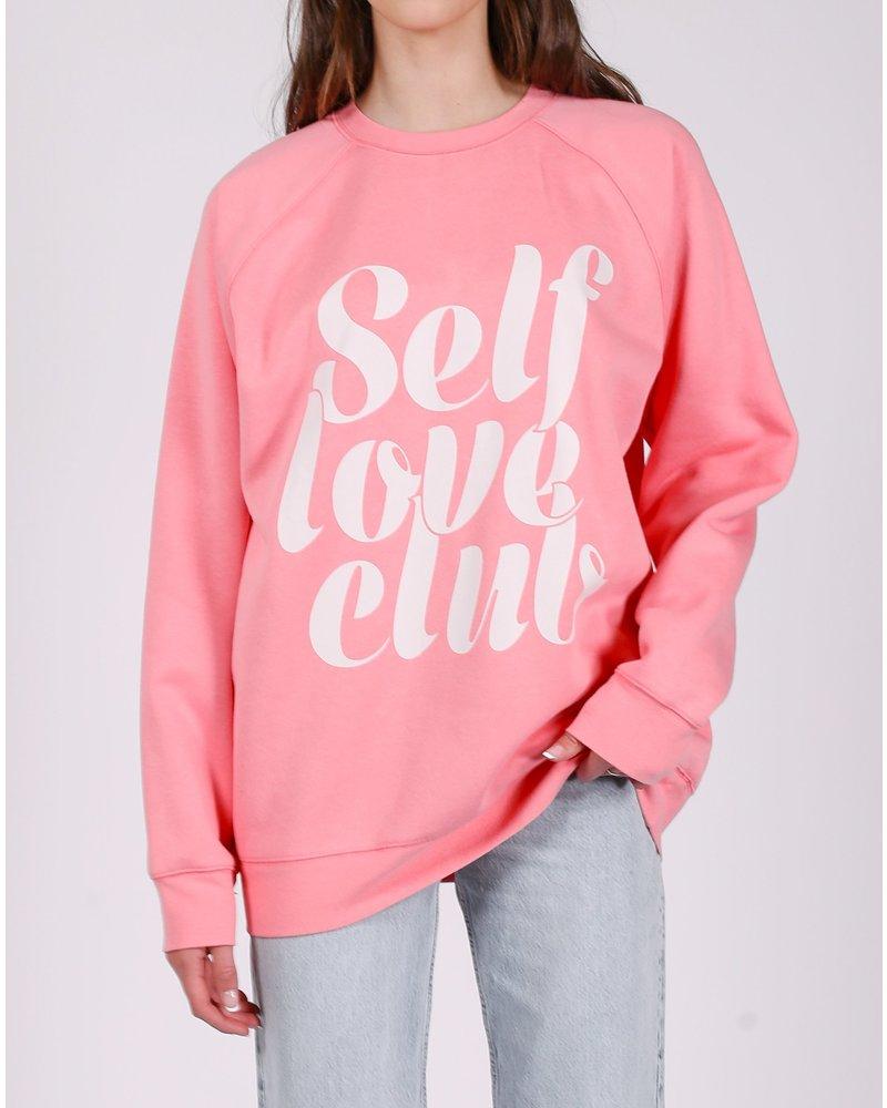 Brunette The Label Benefit Self Love Club Crew