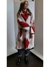 Liviana Conti Argyle Coat
