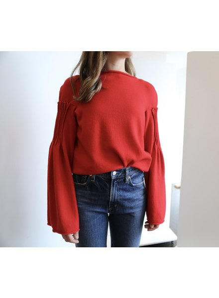 Liviana Conti Sweater with Bell Sleeves