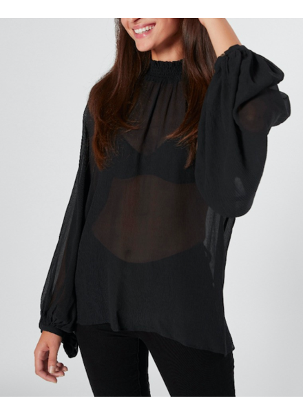 Joie Aldine Long Sleeve Silk Top
