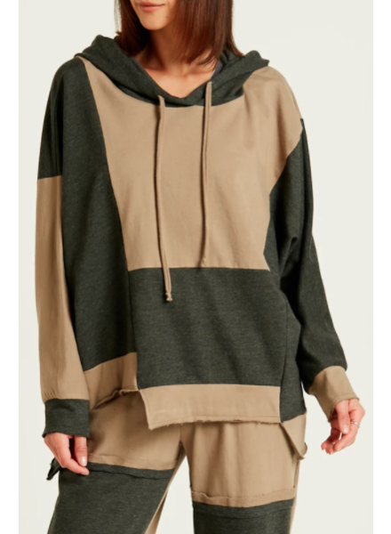 Planet Patched Hoodie
