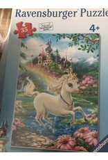 Ravensburger Puzzle Unicorn Castle 35pc