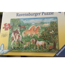 Puzzle Mustang Meadow 60pc