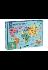 Mudpuppy Map of the world  puzzle