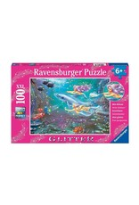 Ravensburger Puzzle 60pcs Little Mermaids Glitter