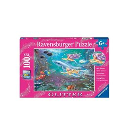 Ravensburger Puzzle 60pcs Little Mermaids Glitter