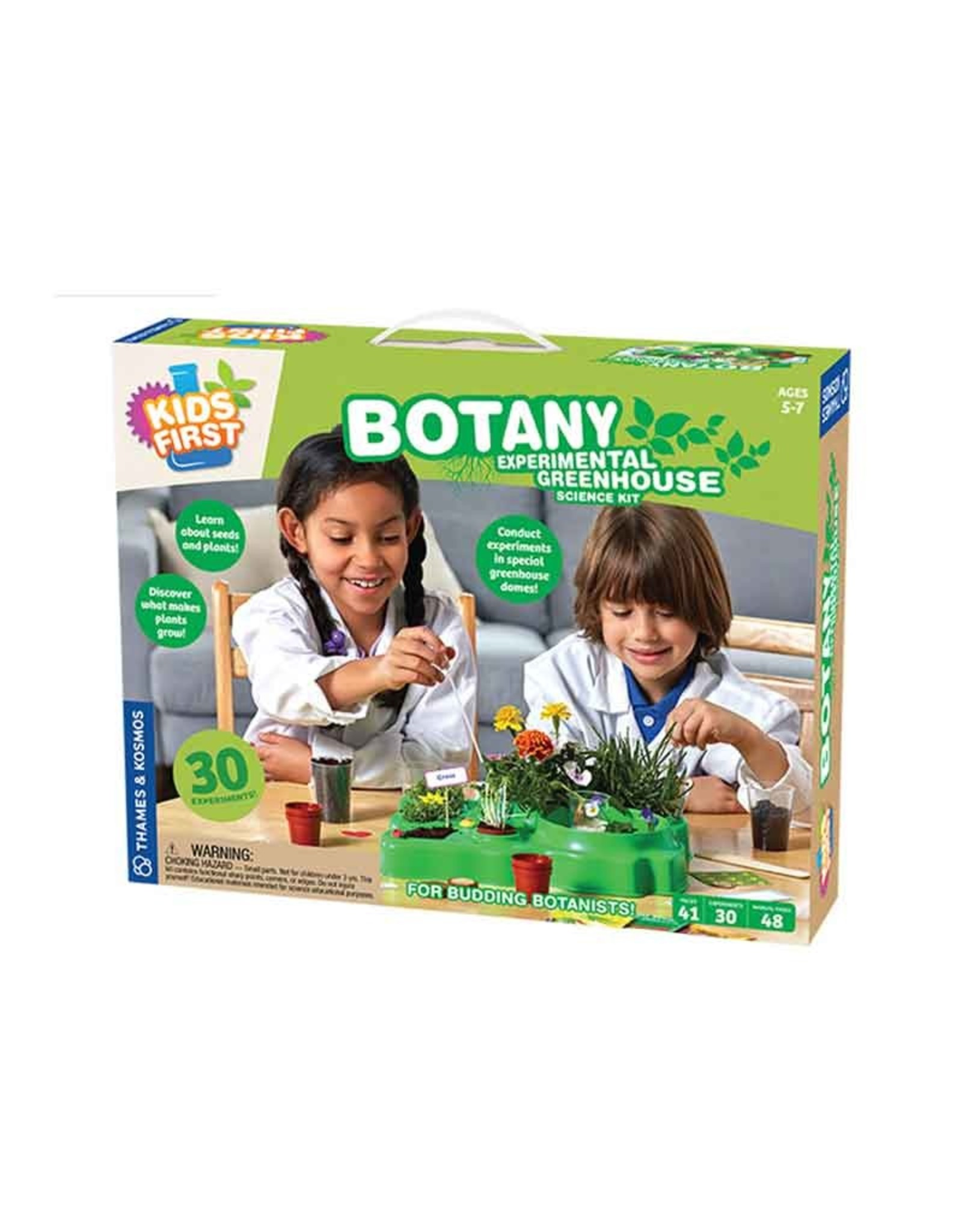Botany - experimental greenhouse - Kids First