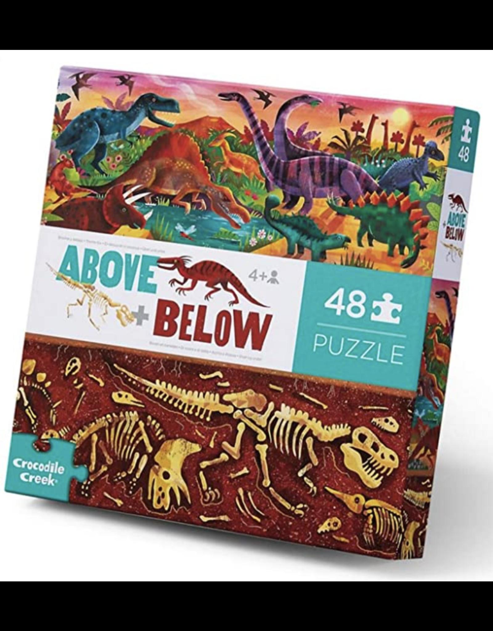 Crocodile Creek Puzzle 48 pc  Dinosaur World