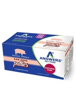 Answers Pet Food ANSWERS DOG DETAILED FORMULA RAW PORK