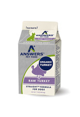Answers Pet Food ANSWERS DOG STRAIGHT FORMULA RAW TURKEY