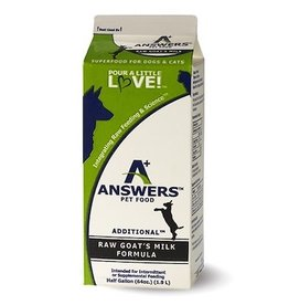 Answers Pet Food ANSWERS FERMENTED RAW GOAT'S MILK FORMULA