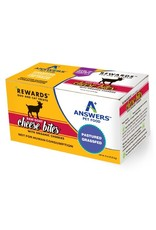 Answers Pet Food ANSWERS RAW GOAT CHEESE BITES WITH ORGANIC CHERRIES 8OZ