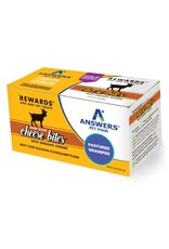 Answers Pet Food ANSWERS RAW GOAT CHEESE BITES WITH ORGANIC GINGER 8OZ