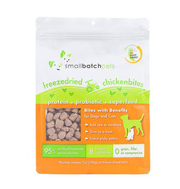 Smallbatch SMALLBATCH FREEZE DRIED RAW CHICKEN BITES 7OZ