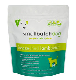 Smallbatch SMALLBATCH DOG FREEZE DRIED LAMB SLIDERS 14OZ