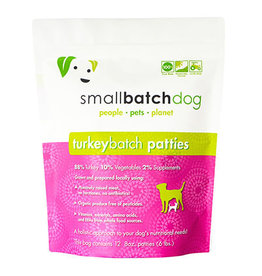 Smallbatch SMALLBATCH DOG FROZEN RAW TURKEY BATCH