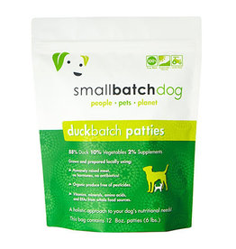 Smallbatch SMALLBATCH DOG FROZEN RAW DUCK BATCH