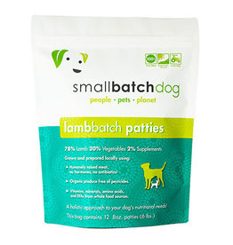 Smallbatch SMALLBATCH DOG FROZEN RAW LAMB BATCH