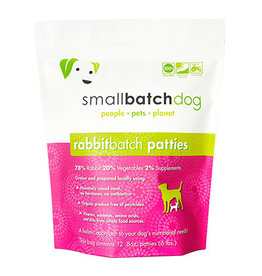 Smallbatch SMALLBATCH DOG FROZEN RAW RABBIT BATCH