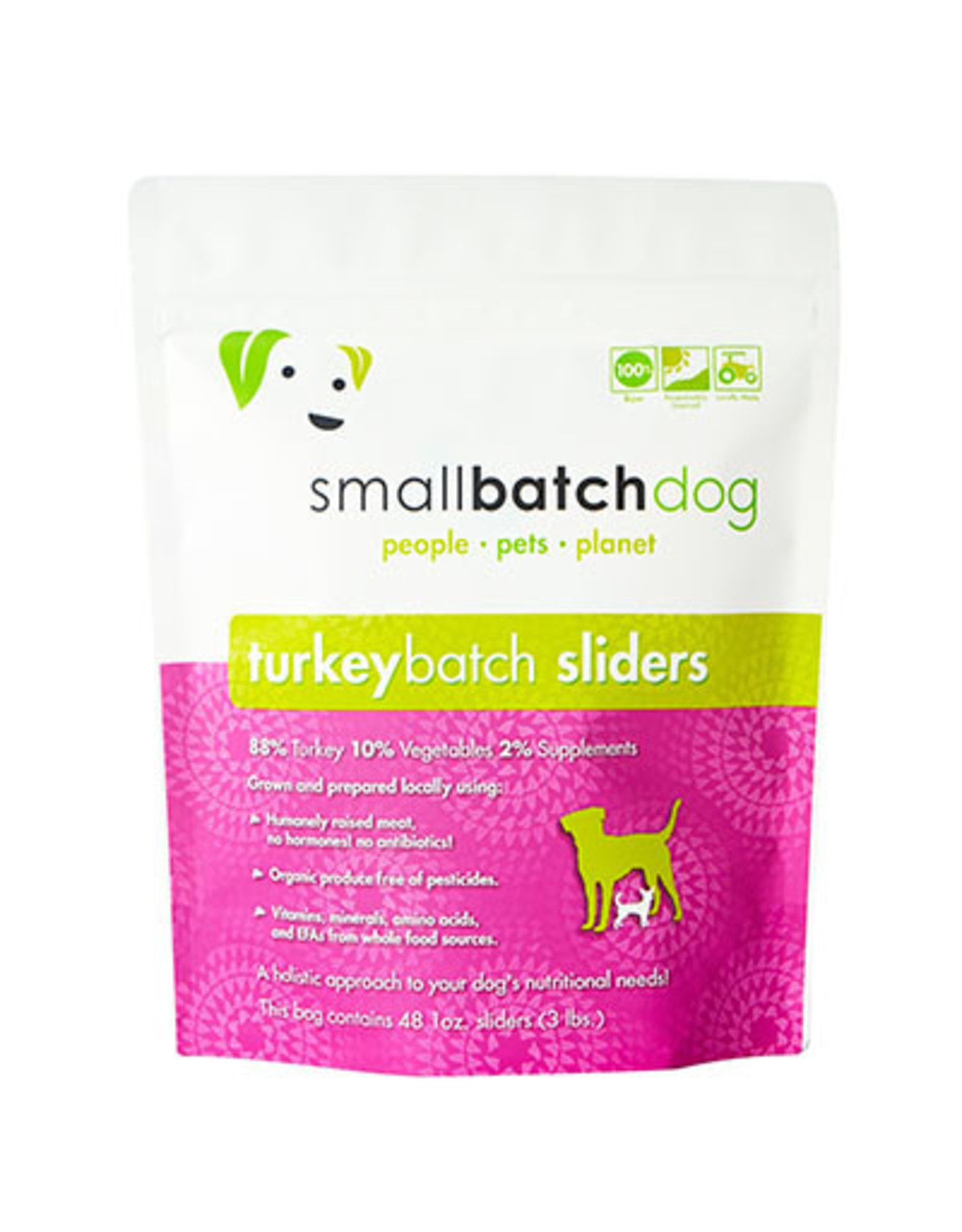 Smallbatch SMALLBATCH DOG FROZEN RAW TURKEY BATCH