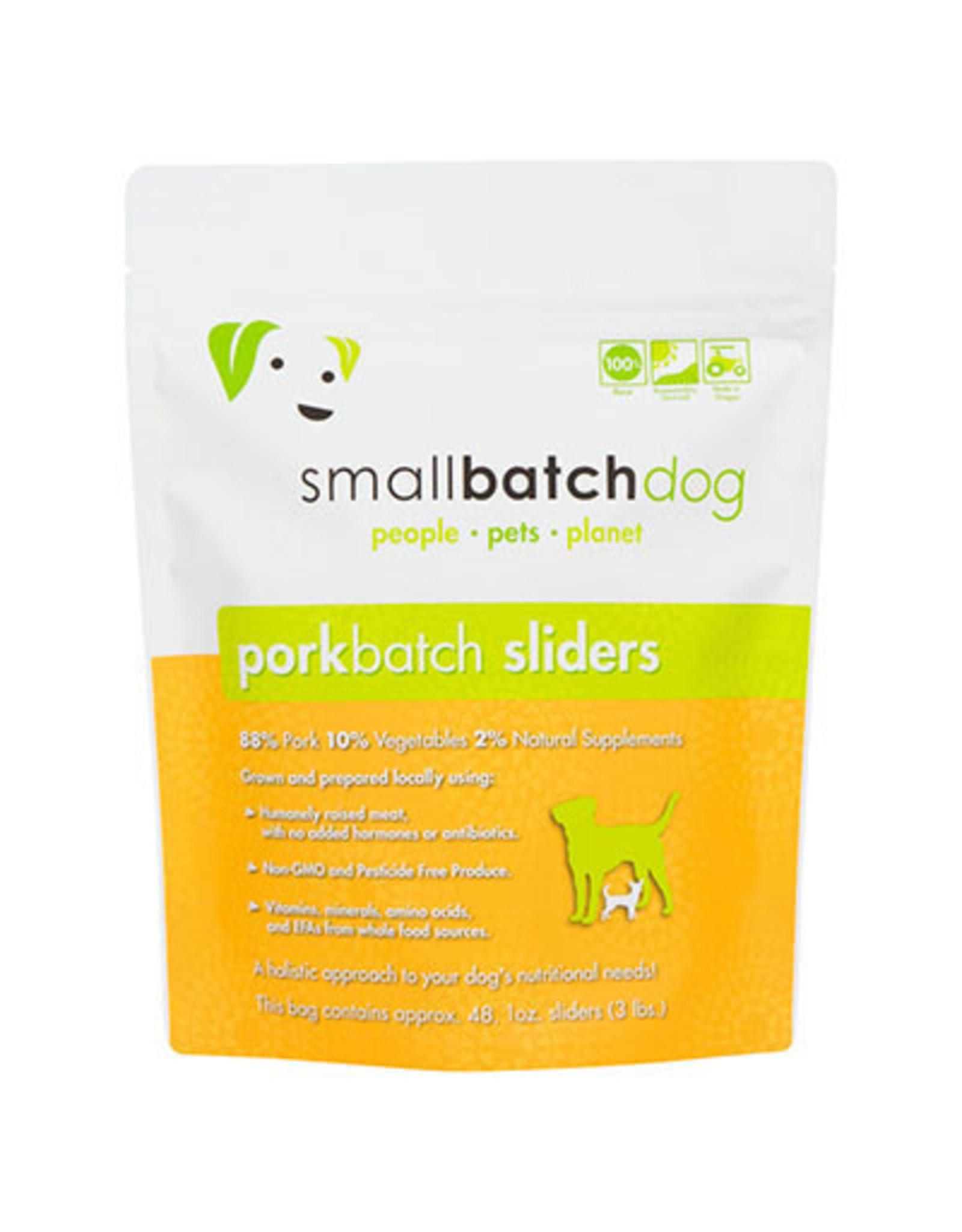 Smallbatch SMALLBATCH DOG FROZEN RAW PORK BATCH
