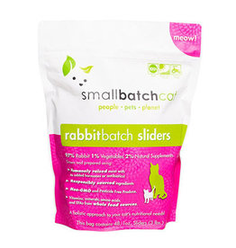Smallbatch SMALLBATCH CAT FROZEN RAW RABBIT BATCH 48-COUNT SLIDERS