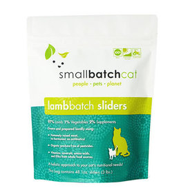 Smallbatch SMALLBATCH CAT FROZEN RAW LAMB BATCH 48-COUNT SLIDERS