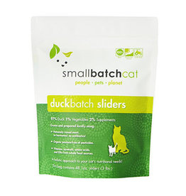 Smallbatch SMALLBATCH CAT FROZEN RAW DUCK BATCH 48-COUNT SLIDERS