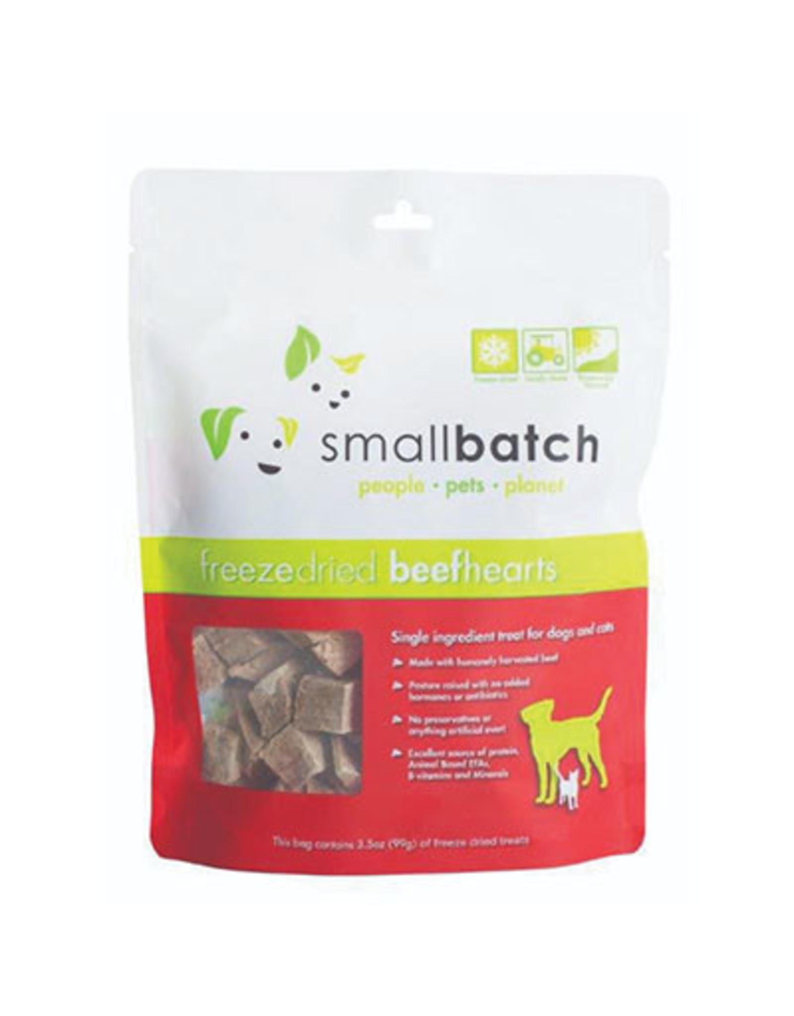 Smallbatch SMALLBATCH FREEZE DRIED BEEF HEARTS 3.5OZ