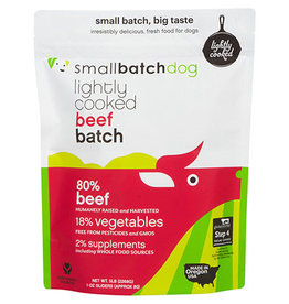 Smallbatch SMALLBATCH DOG FROZEN LIGHTLY COOKED BEEF