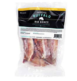 The Bones & Co. THE BONES & CO. DOG BUFFALO RIB BONES 4-COUNT