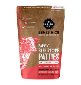 The Bones & Co. THE BONES & CO. DOG FROZEN RAW BARKIN' BEEF RECIPE