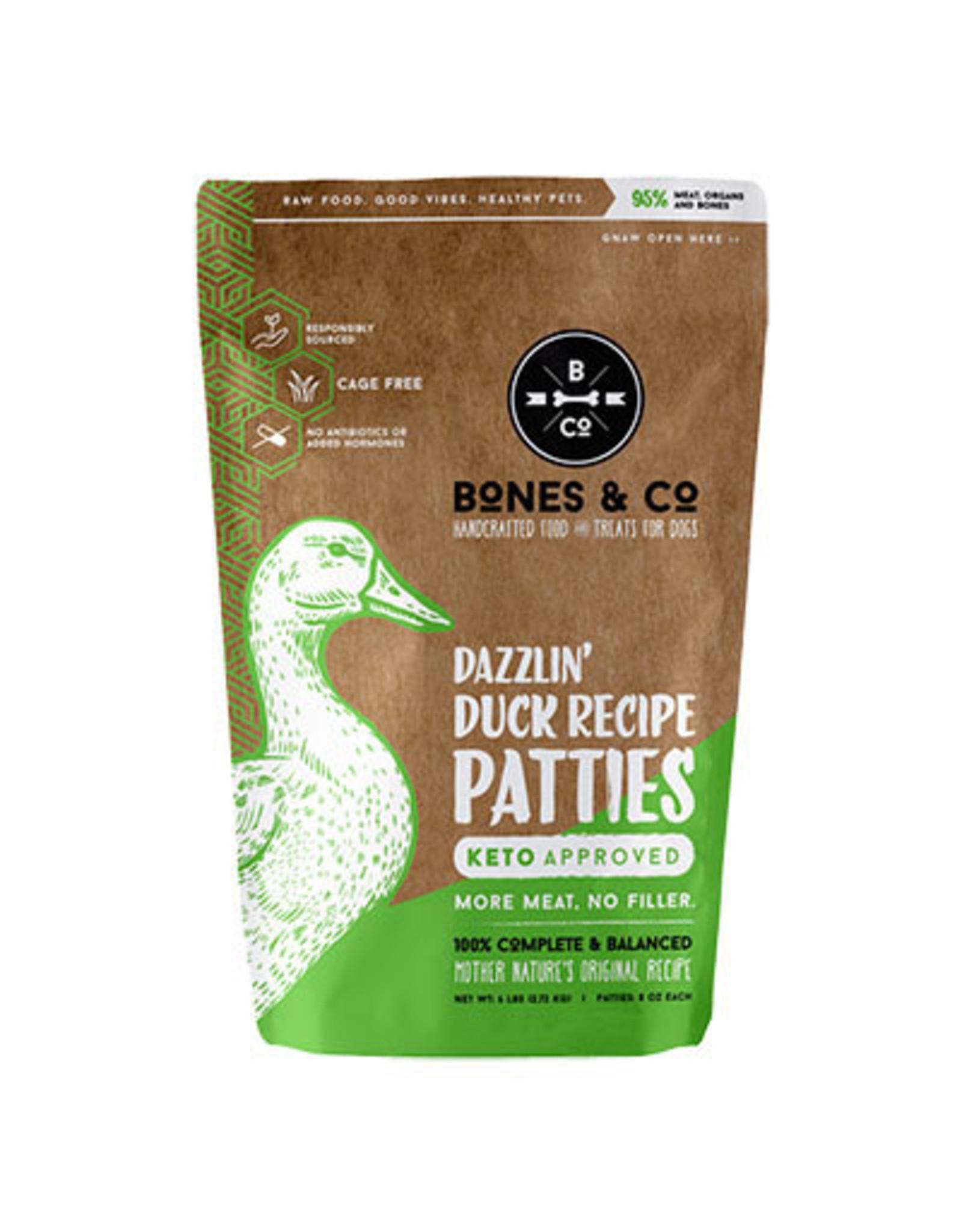 The Bones & Co. THE BONES & CO. DOG FROZEN RAW DAZZLIN' DUCK RECIPE
