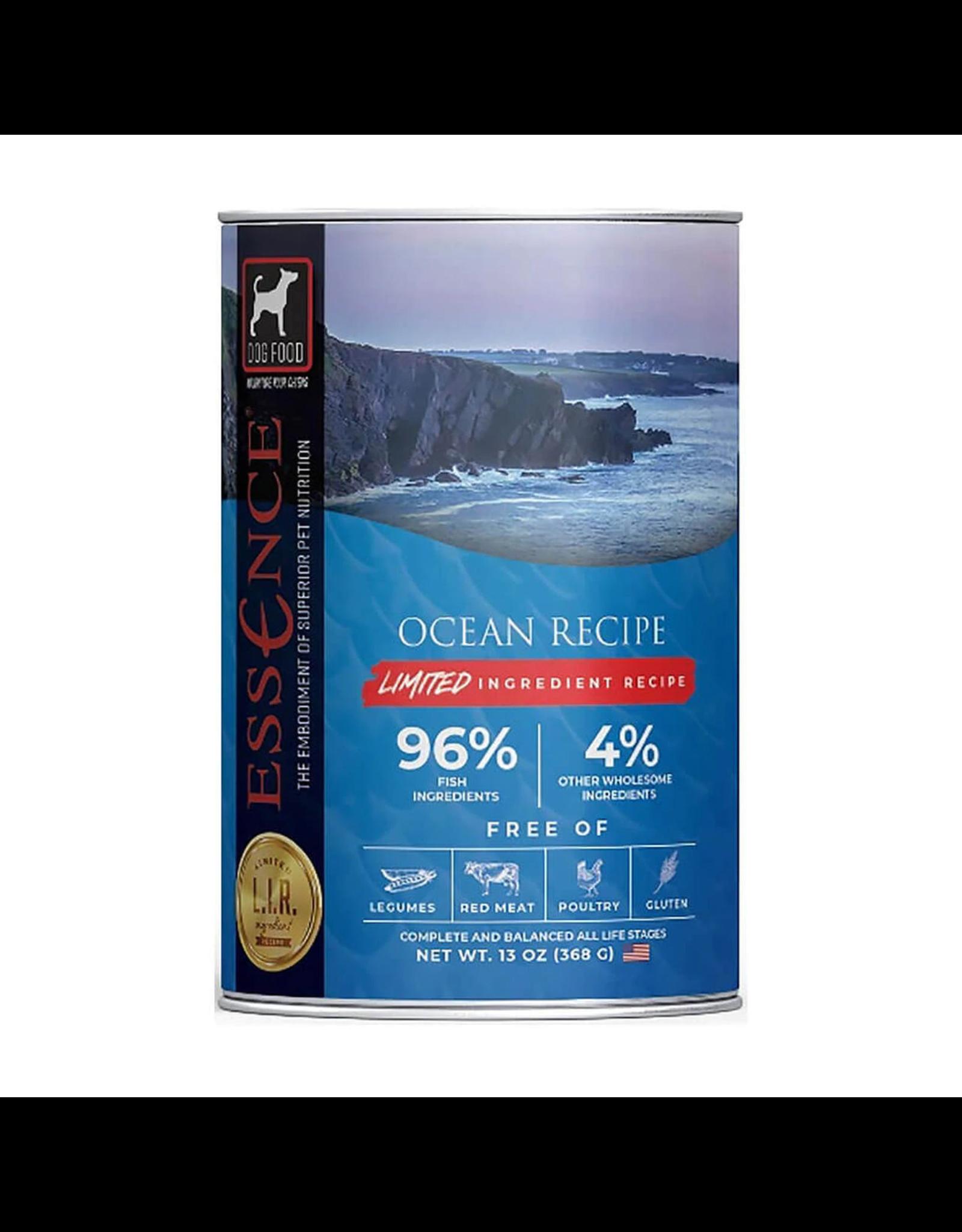 Essence Pet Foods ESSENCE DOG LIR OCEAN RECIPE 13OZ