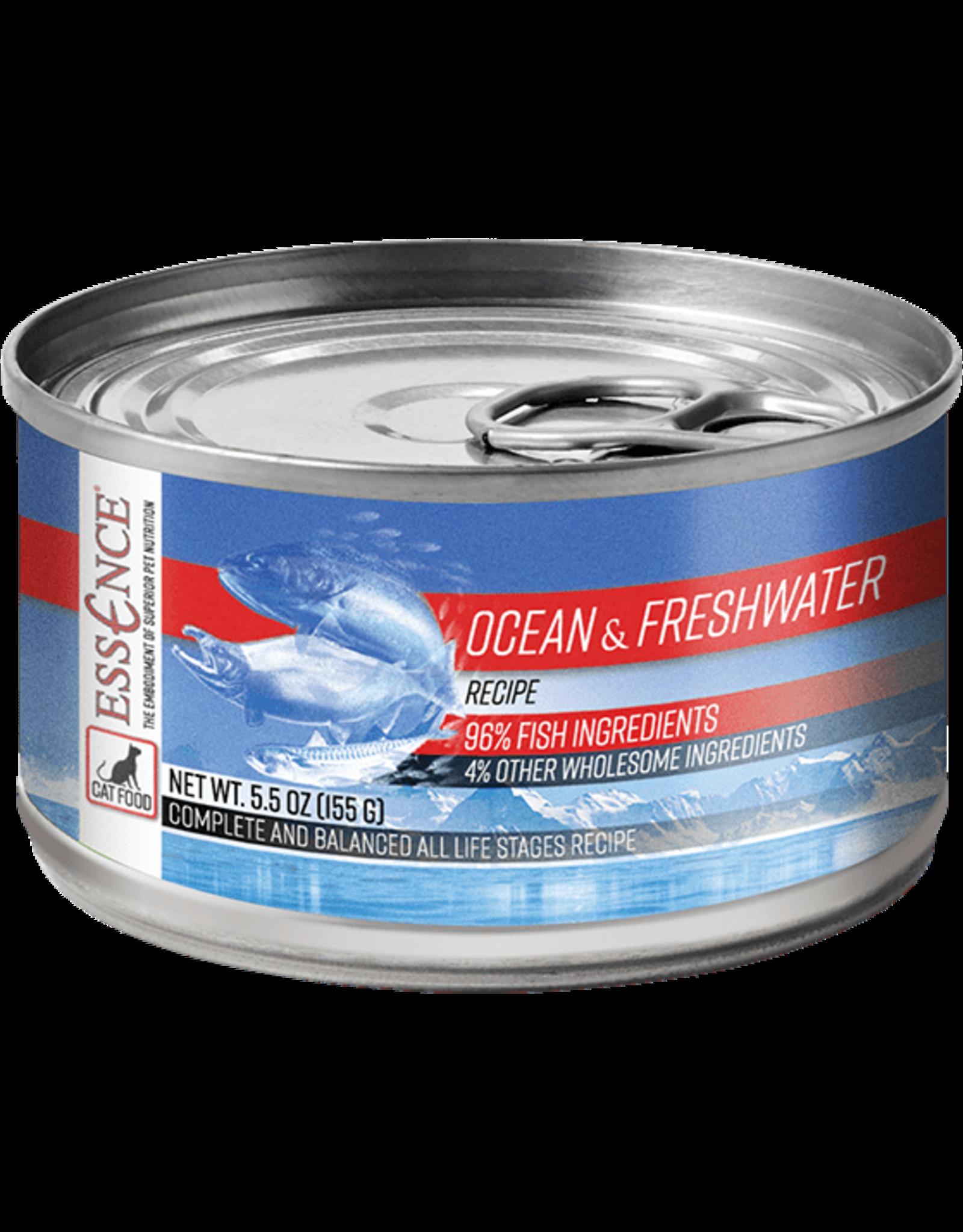 Essence Pet Foods ESSENCE CAT OCEAN & FRESHWATER 5.5OZ