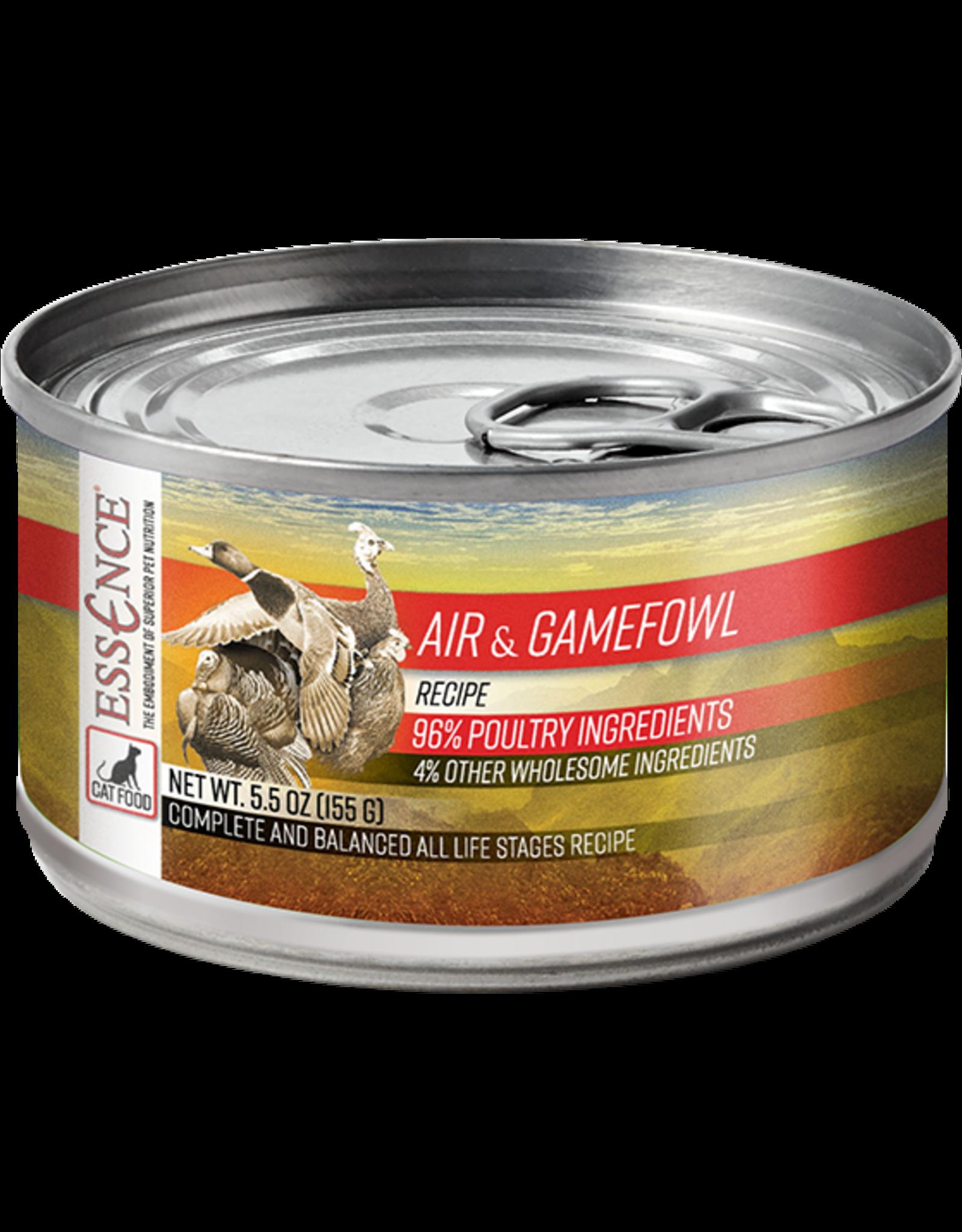 Essence Pet Foods ESSENCE CAT AIR & GAMEFOWL 5.5OZ