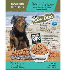 OC Raw Dog OC RAW DOG FROZEN RAW MEATY ROX FISH & PRODUCE