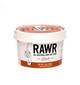 Rawr RAWR RAW FROZEN DUCK CAT FOOD