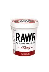 Rawr RAWR RAW FROZEN TURKEY CAT FOOD