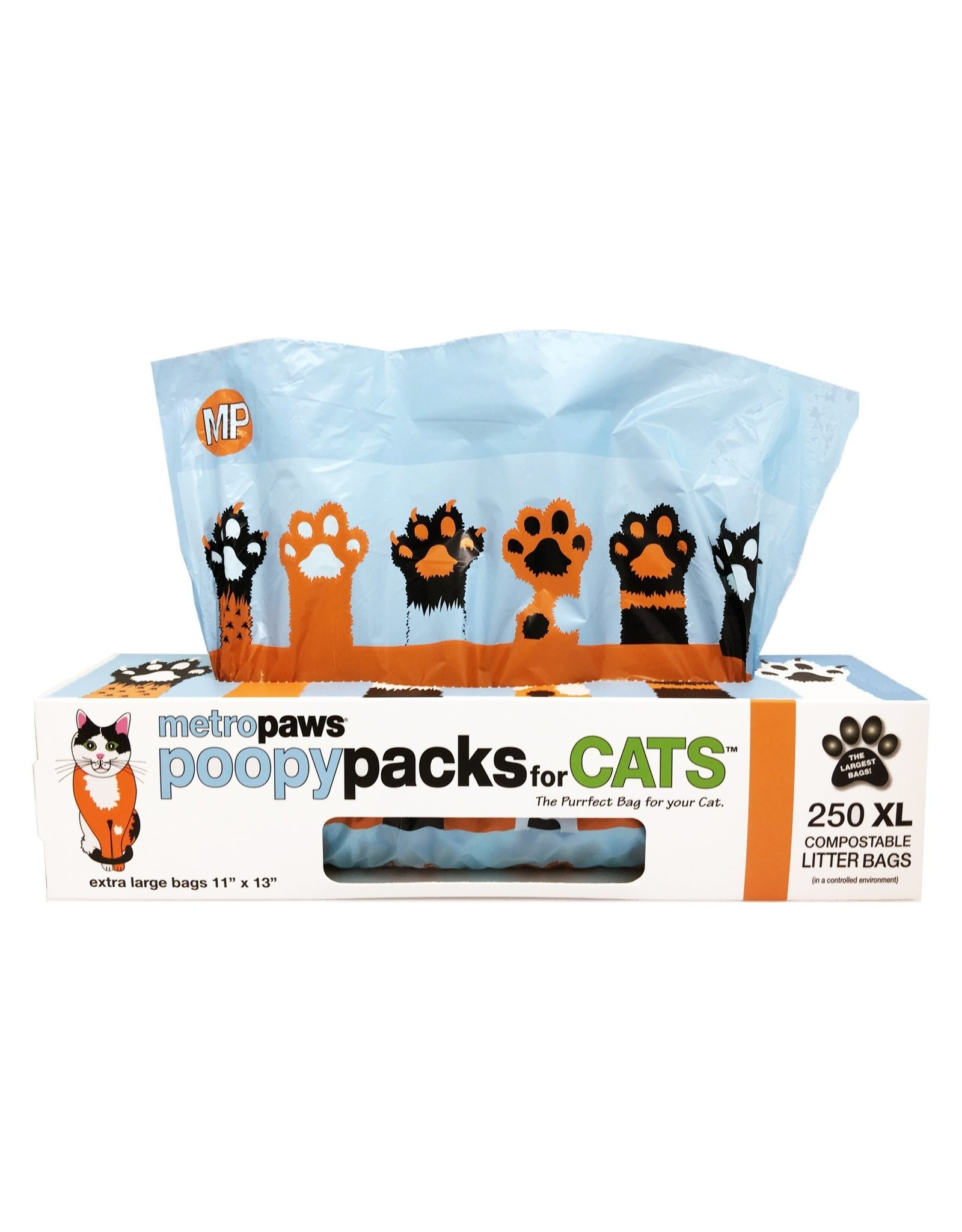 Metro Paws METRO PAWS POOPY PACKS FOR CATS