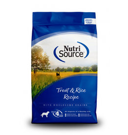 NutriSource Pet Foods NUTRISOURCE DOG TROUT & RICE RECIPE