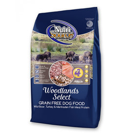 NutriSource Pet Foods NUTRISOURCE DOG WOODLANDS SELECT RECIPE