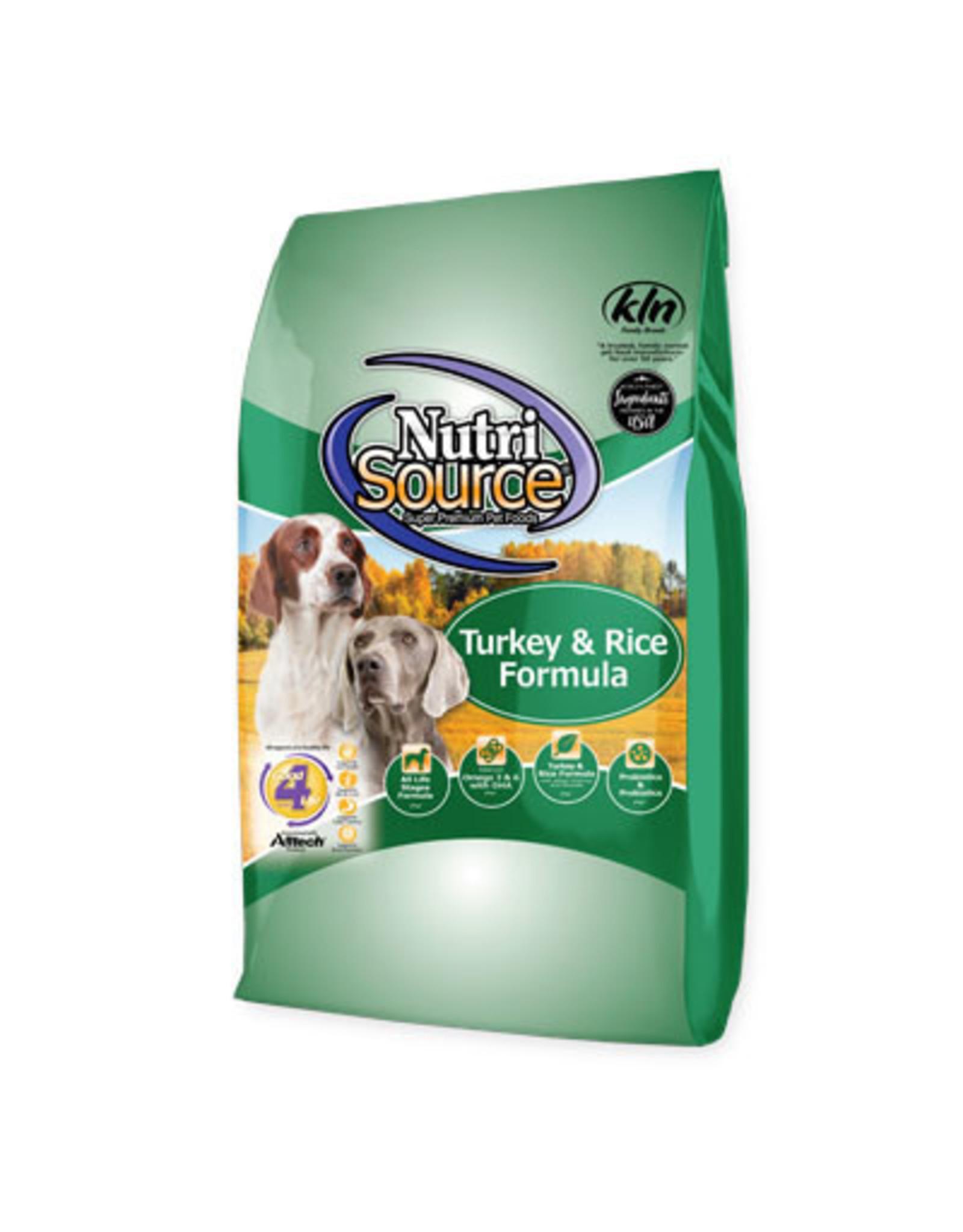 NutriSource Pet Foods NUTRISOURCE DOG TURKEY & RICE RECIPE