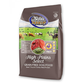 NutriSource Pet Foods NUTRISOURCE DOG HIGH PLAINS SELECT RECIPE