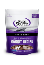 NutriSource Pet Foods NUTRISOURCE SOFT & MOIST BITES RABBIT RECIPE 6OZ