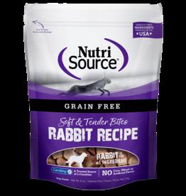 NutriSource Pet Foods NUTRISOURCE SOFT & MOIST BITES RABBIT RECIPE 6OZ